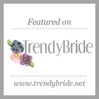 As featured on Trendy Bride
